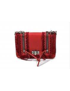 Tracollina LA CARRIE BAG Slavery Ecopelle | Red