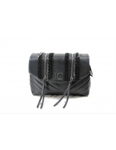 Bowling LA CARRIE BAG Slavery Bottalato Ecopelle | Black