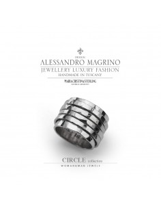 Anello circle in Argento - M.C. Sterling