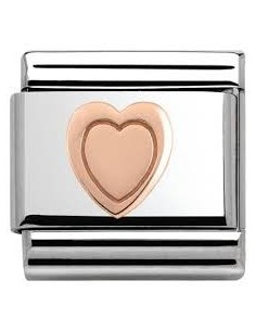 Nomination composable link cuore rose? 2