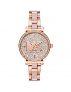 Michael Kors orologio donna Sofie.Quadrante di colore rose gold. MK4336