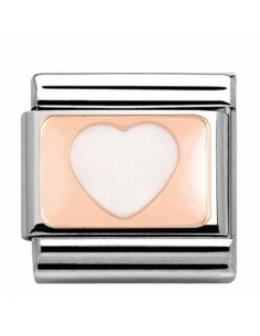 Nomination composable link cuore rose? 4