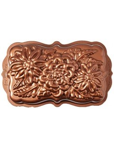 nordic ware stampo Wildflower Loaf alu pressofuso