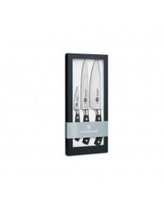 Victorinox set 3pz coltelli forgiati Grand Maitre