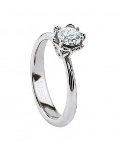 BIBIGI' anello diamante solitario VOGUE kt.0.35