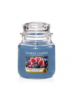 YANKEE CANDLE candela media mulberry e fig delight
