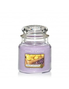 YANKEE CANDLE candela media lemon lavender