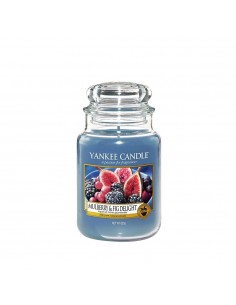 YANKEE CANDLE candela grande mulberry e fig delight