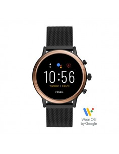 Fossil Smartwatch Julianna Hr Black Rose - Acciaio