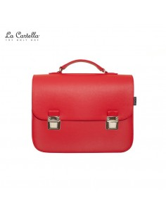 LA CARTELLA borsa pop deluxe red