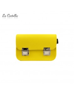 LA CARTELLA borsa mini pop yellow