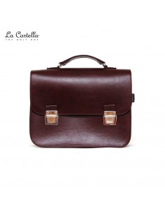 LA CARTELLA pop vintage deluxe bordeaux