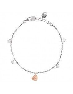 SALVINI Be Happy CHIC bracciale Farfalla diamanti kt.0.07 oro rosa 9kt