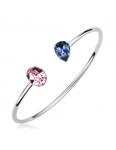 Bracciale Brosway AFFINITY con Swarovski Light rose e denim blue 60mm