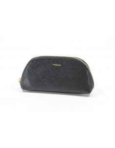 Trousse POMIKAKI Emilia, in ecopelle colore black