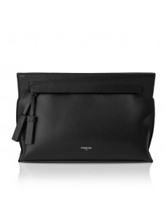 Borsa clutch POMIKAKI Benedetta, in ecopelle colore black